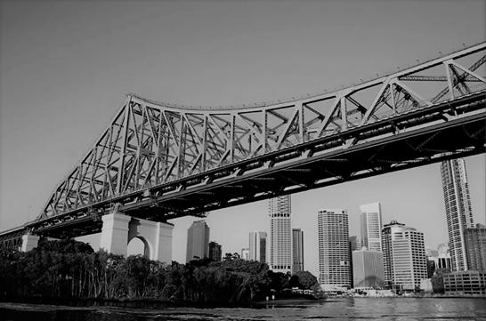 Story Bridge_B&W