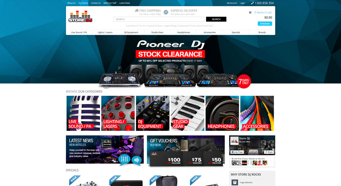 Partners Store DJ