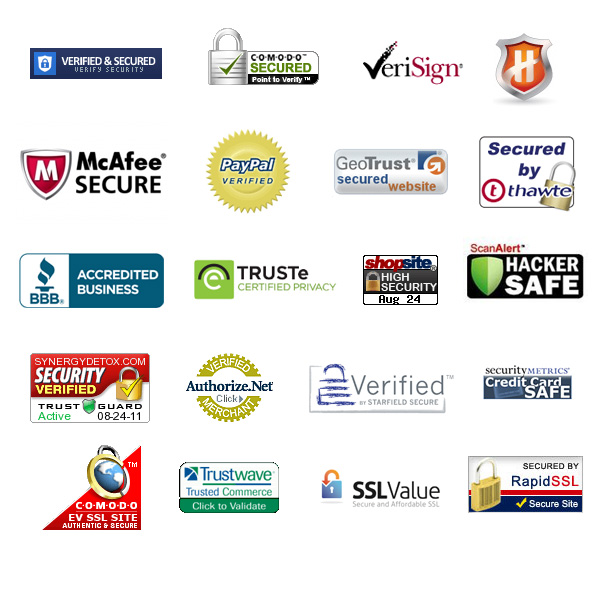 SSL and Trust Seal examples